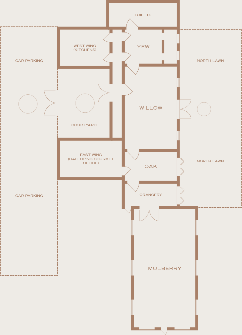 Morden Hall Floor Plans Country House Hire Wedding Venue