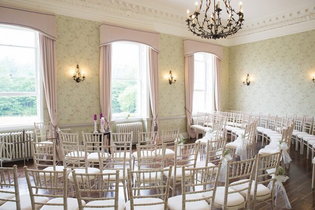 Beautiful seating area in your exclusive wedding venue