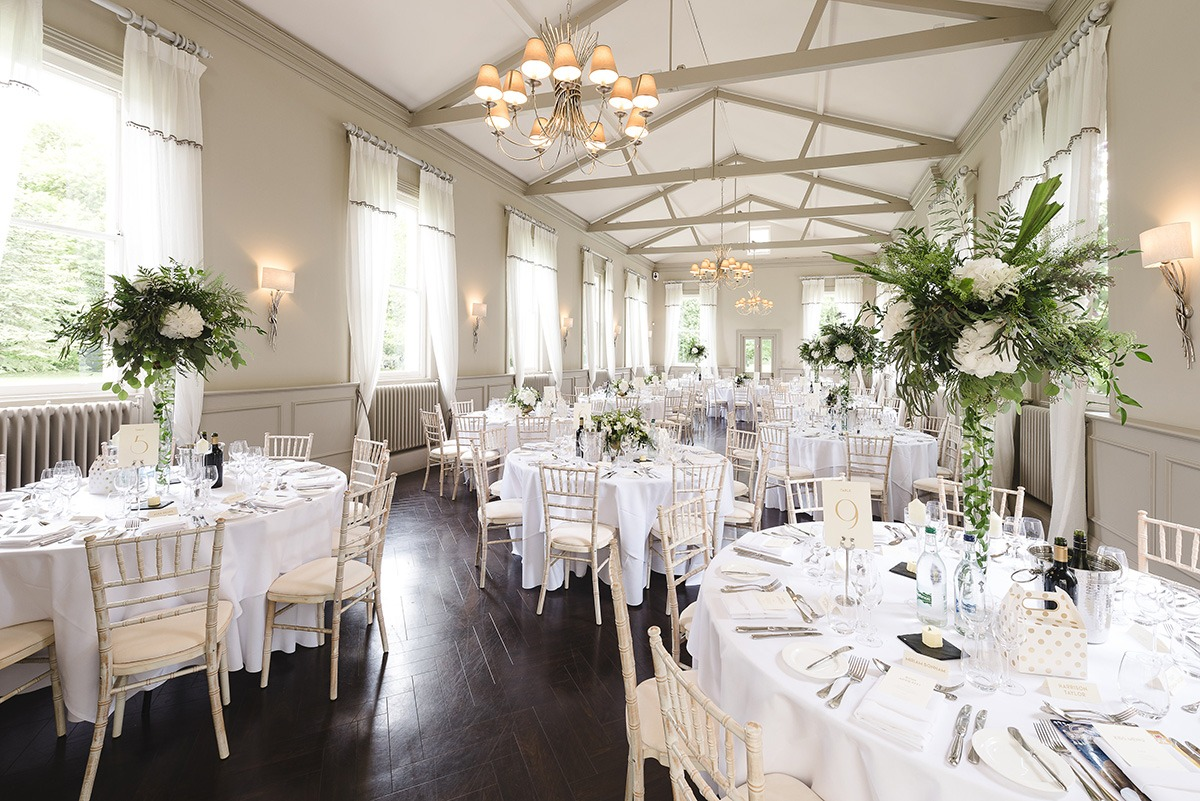 Mulberry Room Prepared For Your Guests At Morden Hall