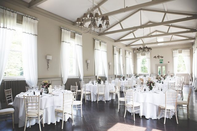 Stunning Mulberry room in an exlusive South London wedding venue