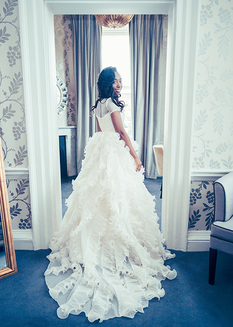 Brides-dress-at-Angela-and-Praj'-wedding-at-Morden-Hall-wedding-venue-2
