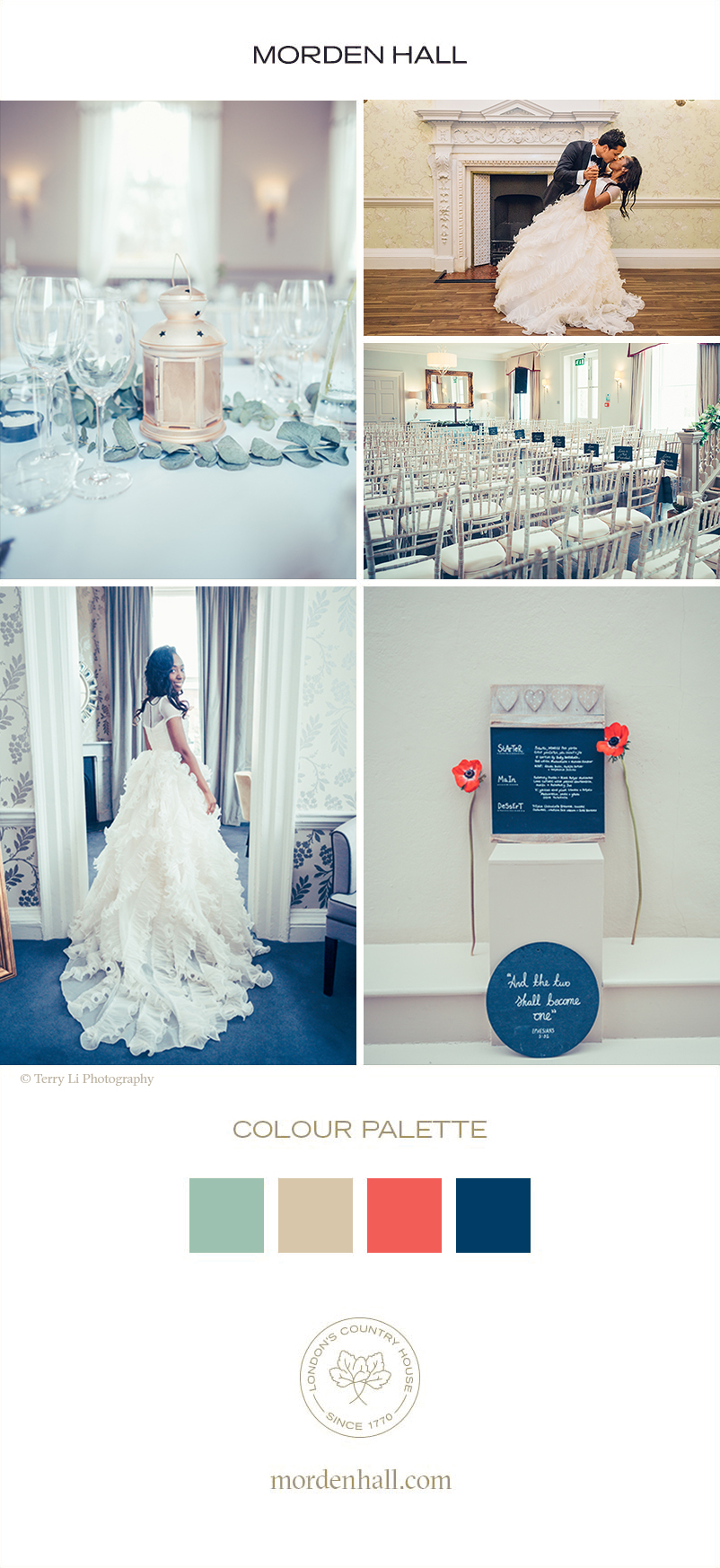 Be inspired by Angela and Praj's wedding ideas