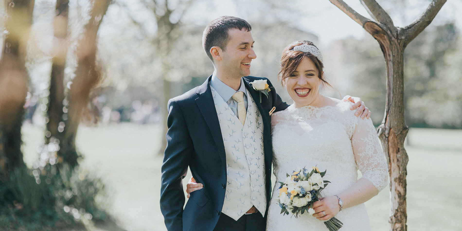 Ruth and Steven share their wedding day at Morden Hall one of the finest wedding venues in London