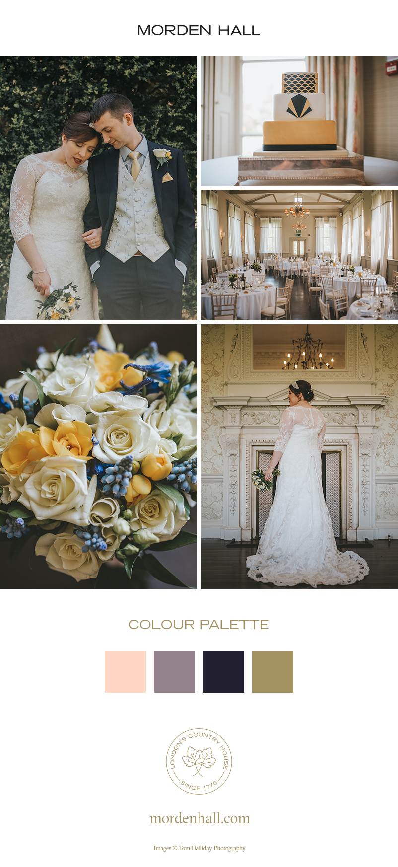 Be inspired by Ruth and Steven's wedding ideas