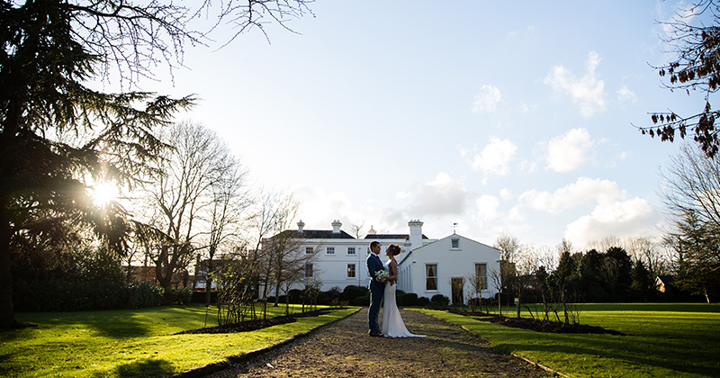 Morden Hall offers an elegant backdrop for wedding photos at your winter wedding in London