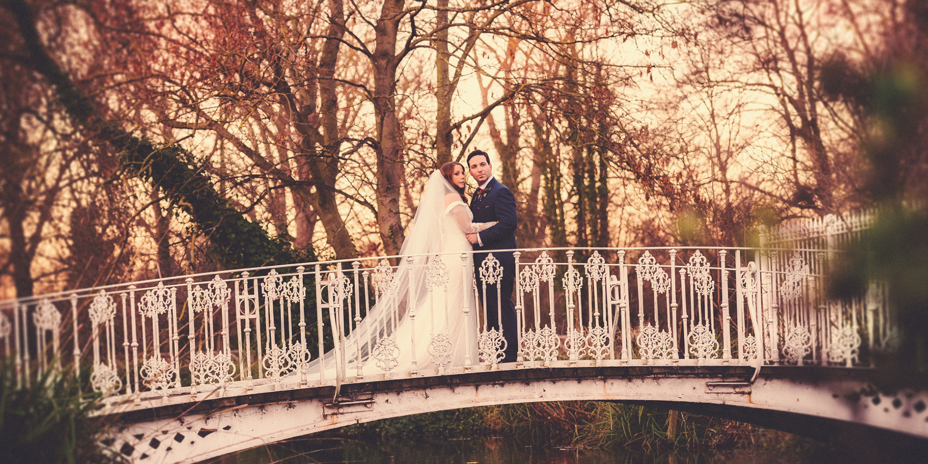 Candice and Rael's real life wedding at Morden Hall