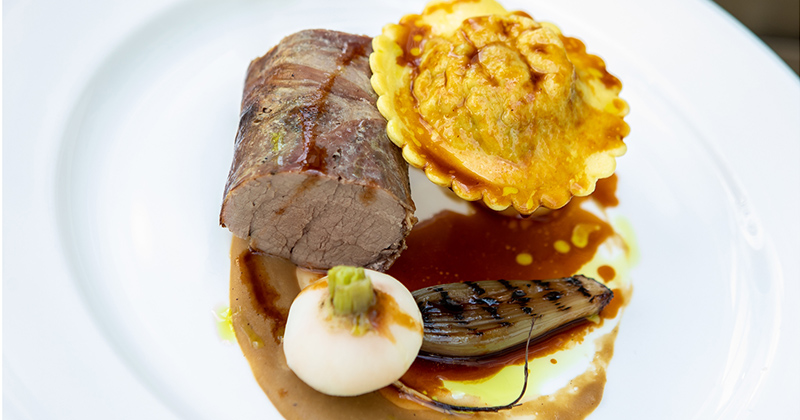Sample mouth-watering food from the mains menu at your Morden Hall tasting event in London