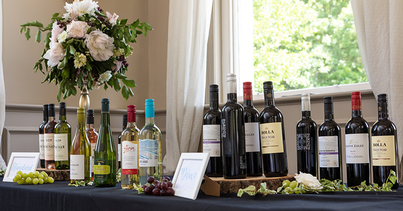 Samples a range of delicious wines at your Morden Hall Tasting event in London
