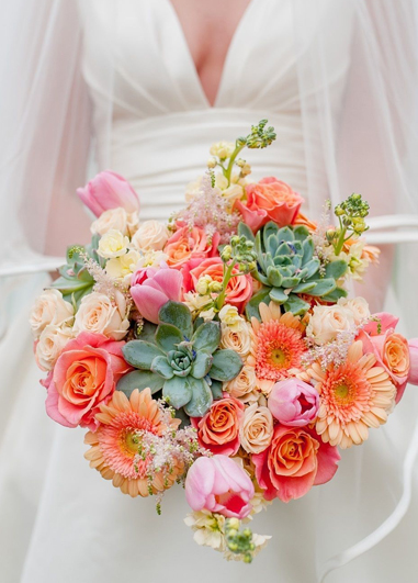 The pantone of the year is perfect for your wedding flowers mixed with lush succulents fir your wedding at Morden Hall.