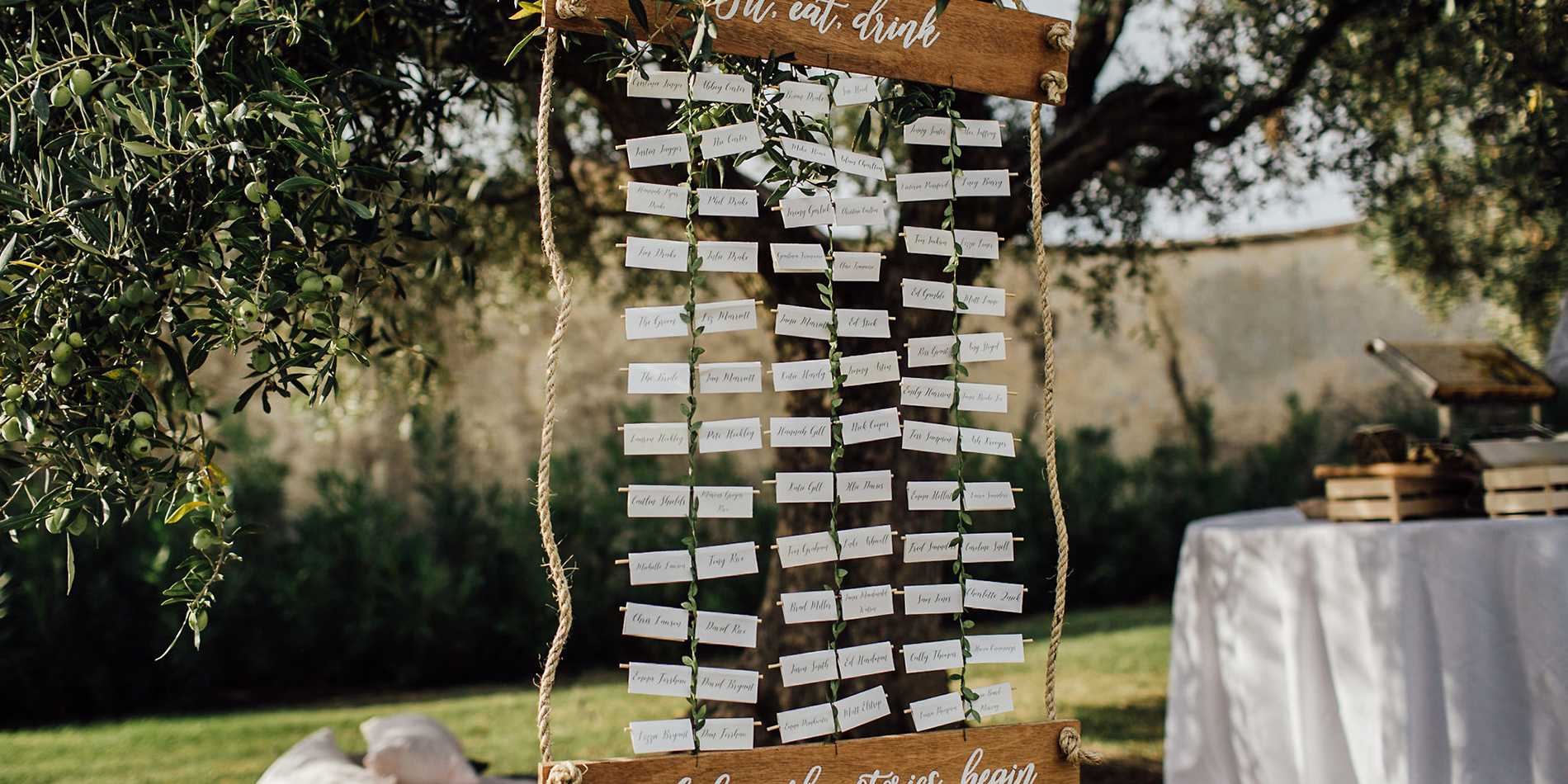 Unique Wedding Table Plan Ideas